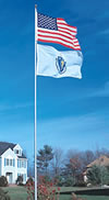 20' & 25' Titan Telescoping Flagpoles